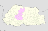 Wangdue Phodrang Bhutan location map.png