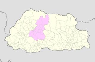 Wangdue Phodrang District District of Bhutan
