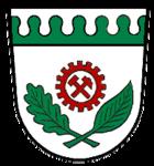 Das Wappen von Blumberg