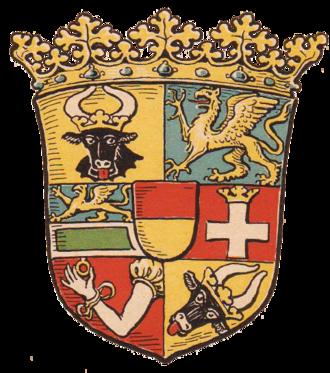 Free State of Mecklenburg-Schwerin - Image: Wappen Freistaat Mecklenburg Schwerin