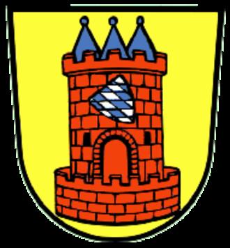 Höchstädt an der Donau - Image: Wappen von Höchstädt a d Donau