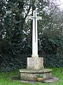 War memorial, Tilmanstone. - geograph.org.uk - 303730.jpg