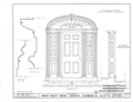 Ware-Sibley-Clark House, 506 Telfair Street, Augusta, Richmond County, GA HABS GA,123-AUG,36- (sheet 3 of 8).png