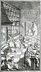 Bild ur första utgåvan, gravyr av Pehr Geringius.