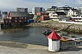 Waterfront area at Bakkegata and Parkgata, Svolvær, Austvågøya, Lofoten, Norway, 2015 April.jpg