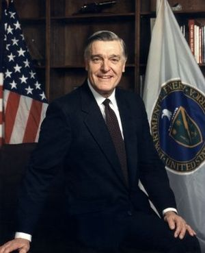 James D. Watkins - Watkins as Secretary of Energy 1989-1993
