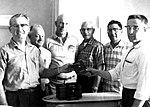 Wayne Miller accepts bible from Gideons La Jara CO (25408296573).jpg