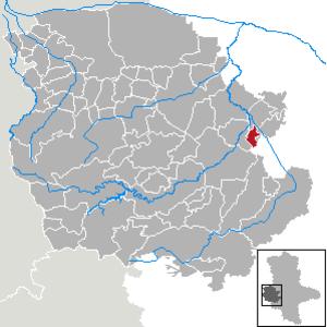Wedderstedt - Image: Wedderstedt in HZ