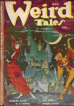 Weird Tales cover image for May 1950