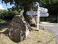 Well at Holemoor Cross - geograph.org.uk - 490491.jpg