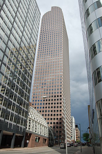 Wells Fargo Center (Denver) - Image: Wellsfargocenterdenv er 1