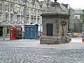 West Bow wellhead and the old Polis box - geograph.org.uk - 957906.jpg