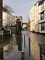Wet pavement, Castle Street, Exeter - geograph.org.uk - 1069814.jpg