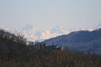 Wettingen - Schartenfels castle