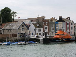 Weymouth Lifeboat Station lifeboat station on the South coast of England, UK