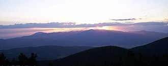 Sangre de Cristo Mountains - Image: Wheeler Peak from Phillips
