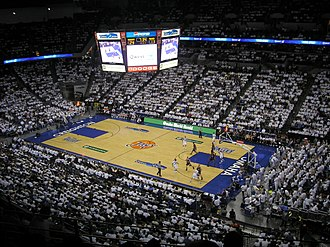 CenturyLink Center Omaha - White Out vs Southern Illinois