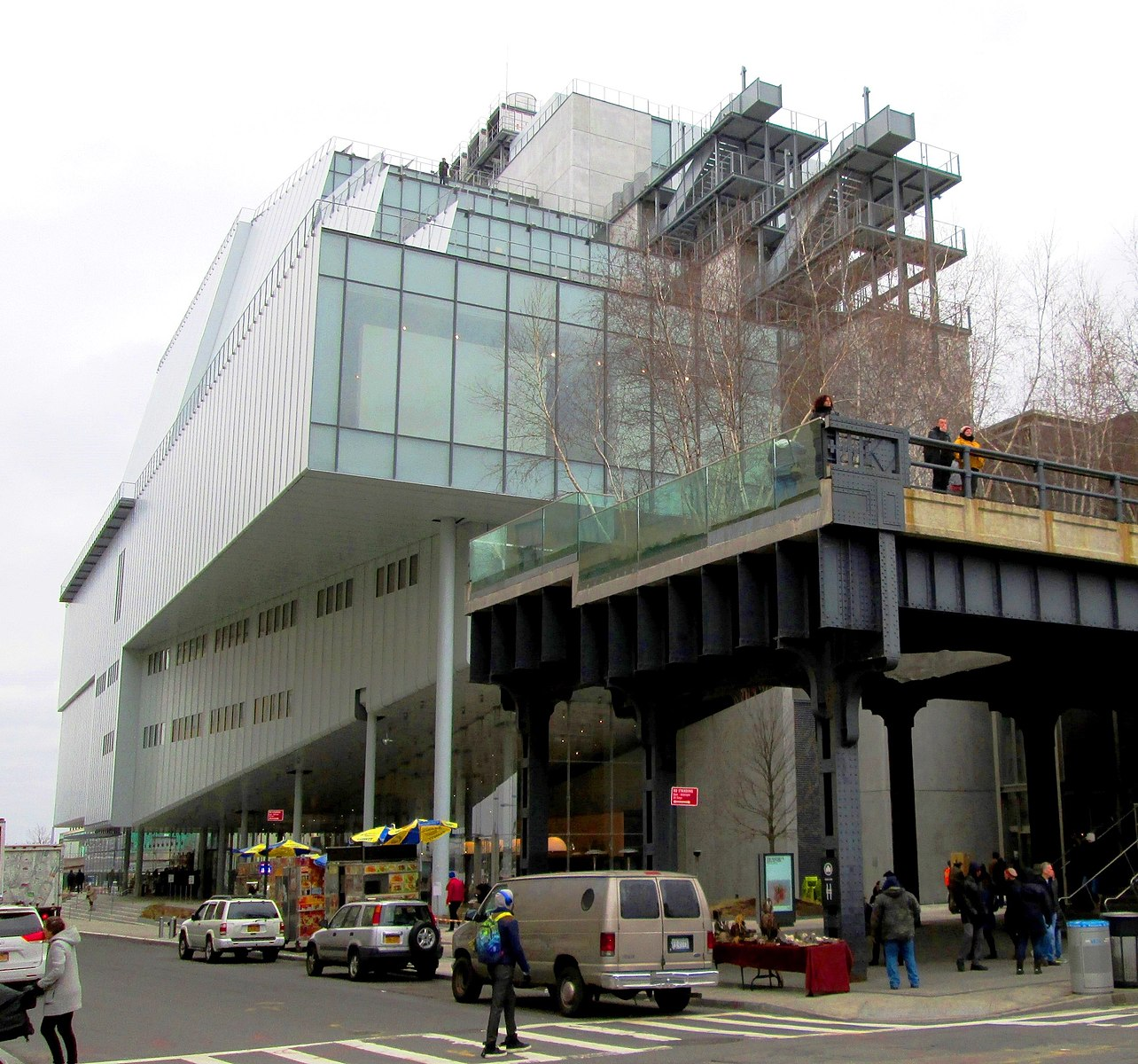 The Whitney Museum Exterior