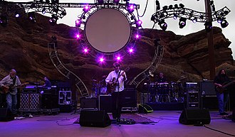 Widespread Panic - Widespread Panic performing at Red Rocks Amphitheatre, 2010