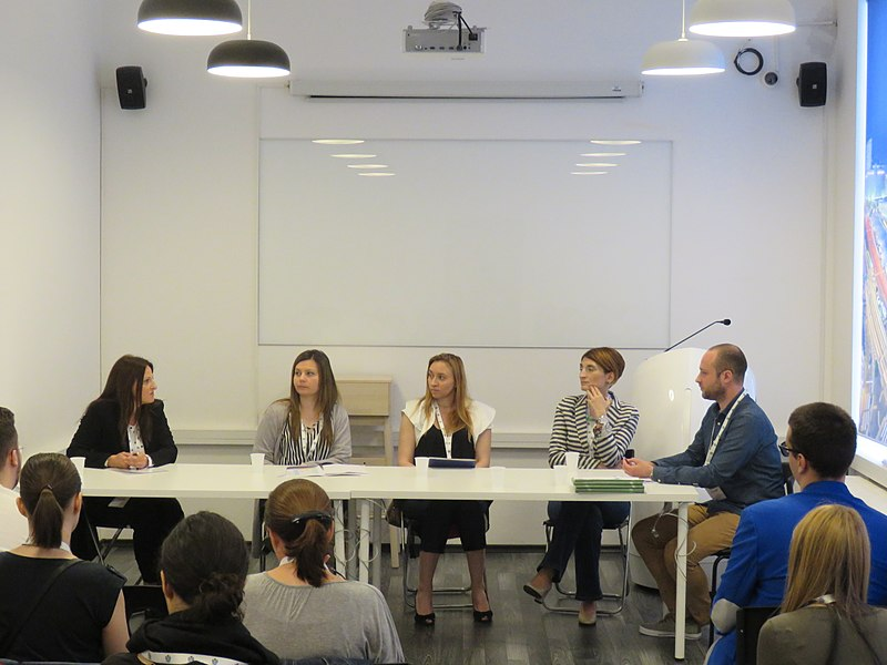 File:WikiLive 2018 in Serbia, EDU panel with partners 3.jpg