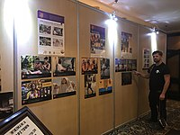 Wiki Loves Africa exhibition at Wikimania 2018.jpg
