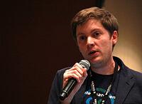 Wikimania 2015 - Joe Sutherland 14.jpg