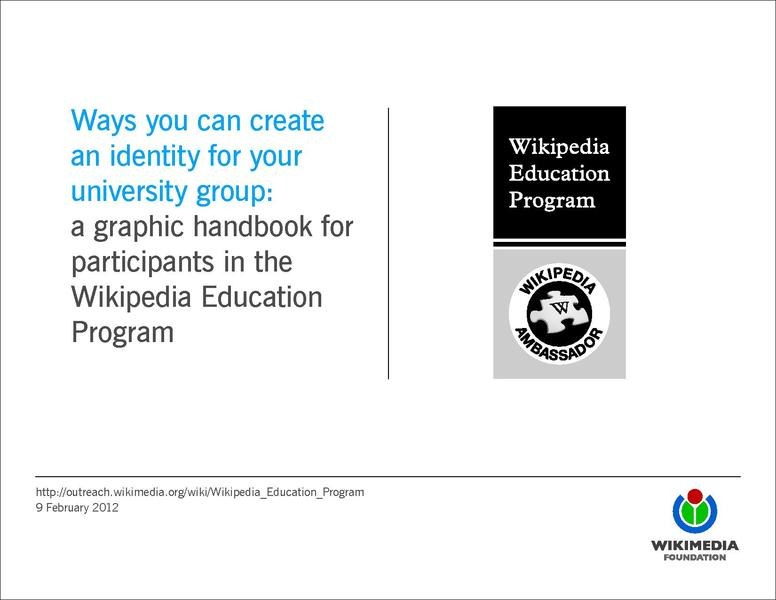 File:WikipediaEducationProgramGraphicHandbook.pdf