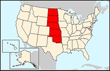 Wikivoyage US regions - The Great Plains states.jpg