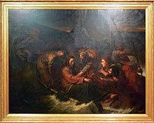 Jesus Und Die Jünger Auf Stürmischer See, 1853
