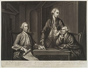 James Townsend (Lord Mayor of London) - James Townsend (center) in 1769 as alderman of the City of London.
