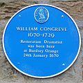 William Congreve Blue Plaque.jpg