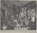 William Hogarth - A Rake's Progress, Plate 1 (Orig).png