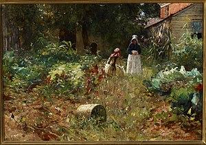 William Forsyth (artist) - In the Garden, 1891