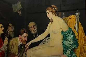 Adoration - Adoration 1913, by William Strang