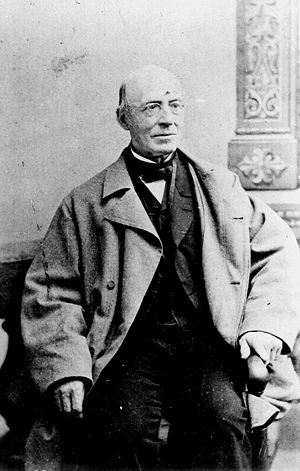 American abolitionist William Lloyd Garrison, ...