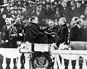 First inauguration of Woodrow Wilson - Image: Wilson First Inauguration
