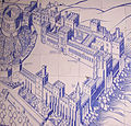 Windsor castle on tiles 03.JPG