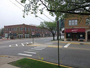 Winfield, Illinois - Image: Winfield IL Business District