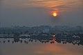 Winter Solstice Sunset - Kolkata 2011-12-22 7704.JPG
