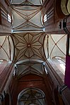 Wismar, St. Georgen, Gewölbeansicht 6.JPG