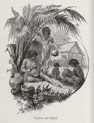 Bilibil people - Image: Women potters from Bilibili Papua New Guinea 1884 1885