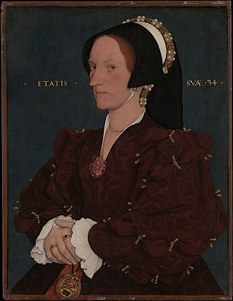 Henry Lee of Ditchley - Margaret Wyatt, by Hans Holbein