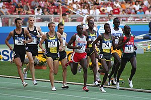 English: World athletics final Stuttgart 2007 ...