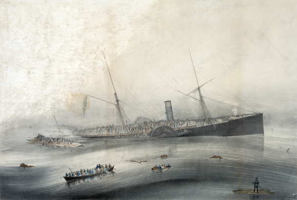 """Wreck of the U.S.M. steam ship """"Arctic"""" (one-third-size).png"""