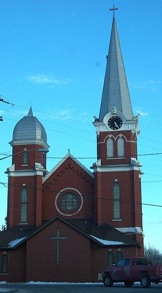 Wrightstown, Wisconsin - Image: Wrightstown Wisconsin Church