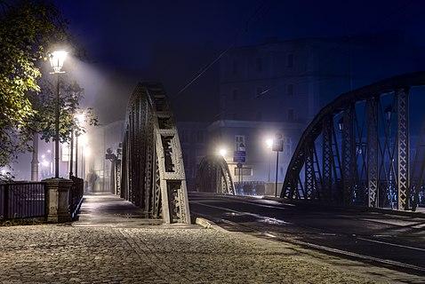 Mlynski bridges in Wroclaw