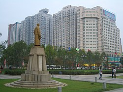 Yuema Square (阅马场) near the Wuchang Uprising Memorial