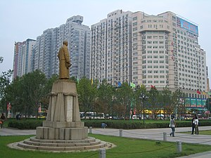 Wuchang District - Image: Wuchang Uprising Memorial Square 0127