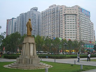 Wuchang District District in Hubei, Peoples Republic of China