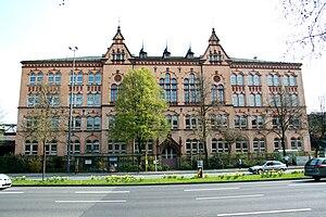 Hauptschule - Catholic Hauptschule in Wuppertal, North Rhine-Westphalia, Germany.